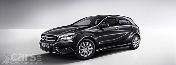 new mercedes a class a 180 blueefficiency edition models launch cars uk. Black Bedroom Furniture Sets. Home Design Ideas