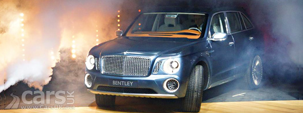 Bentley SUV image