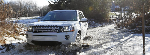 Land Rover Freelander Snow