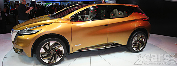 Nissan Resonance SUV Detroit