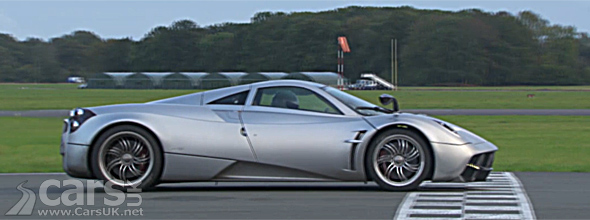 Photo of Pagani Huayra setting Top Gear lap Record