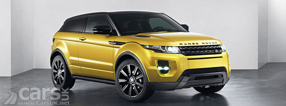 Photo of Range Rover Evoque Sicilian Yellow