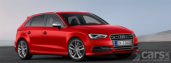 New Audi S3 Sportback in red image