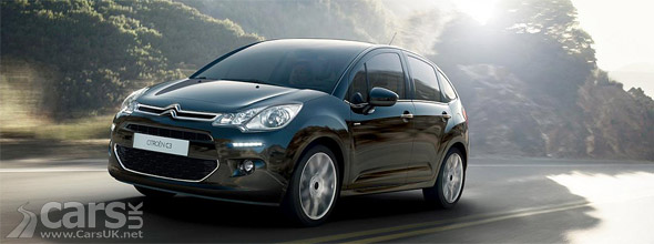 2013 Citroen C3 Facelift on road image