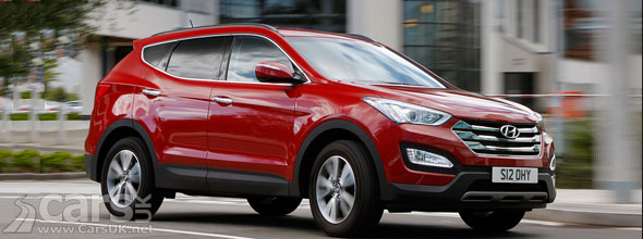 Photo of new Hyundai Santa Fe