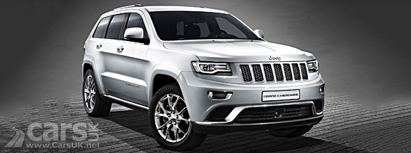Facelift Jeep Grand Cherokee UK & European Spec image