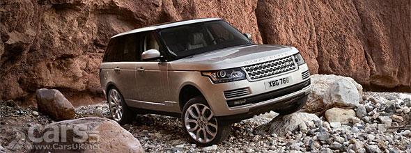 New Range Rover on rocks image