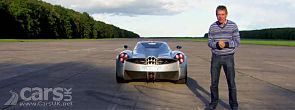 Photo of Fifth Gear's Jason Plato and Pagani Huayra