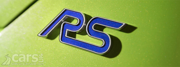 Ford Focus RS badge image