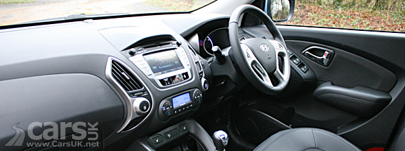 Interior photo of Hyundai ix35 4WD