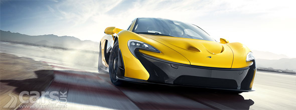 McLaren P1 first production car image