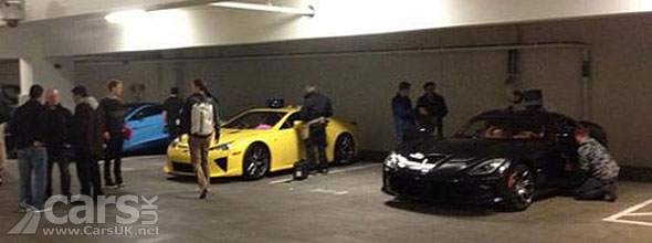 Image of Top Gear with Lexus LFA, SRT & Vanquish TG Series 19 Episode 2