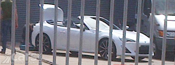 Scion Fr S Convertible In Toyota Gt86 Form Spied In South Africa