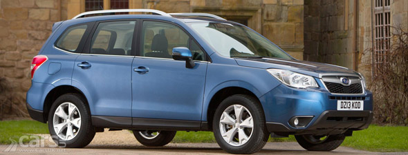2013 Subaru Forester UK photo