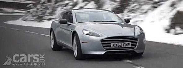 still image from Aston Martin Rapide S Video