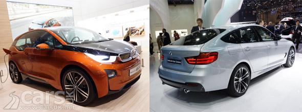 Photo BMW i3 Coupe & 3 Series GT Geneva Motor Show 2013