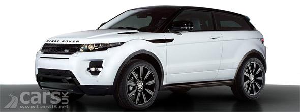 Range Rover Evoque Black Design Pack Geneva picture