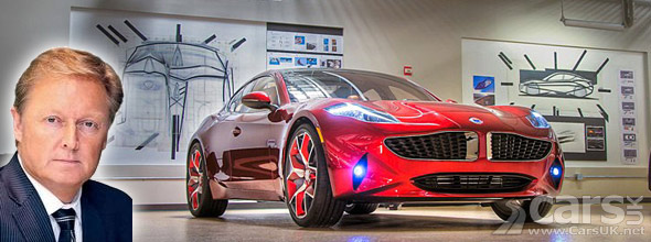 Photo of Henrik Fisker and Fisker Atlantic