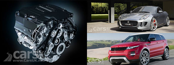 New Jaguar Land Rover engine photo