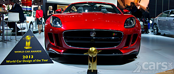 Photo Jaguar F-Type & 2013 World Car Design of the Year Award