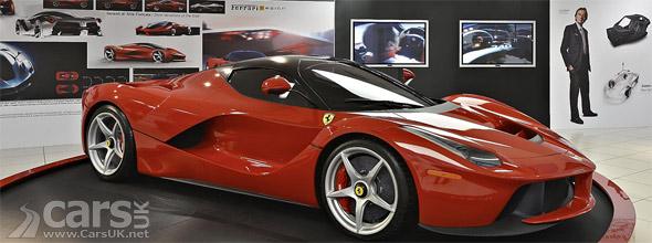 Photo fo LaFerrari at Ferrari Supercar Exhibition