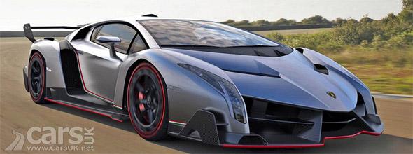 Lamborghini Veneno Official picture