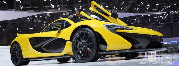 McLaren P1 Geneva Motor Show picture