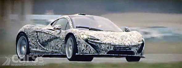 Still image from McLaren P1 goes round Top Gear Track with Sergio Perez video