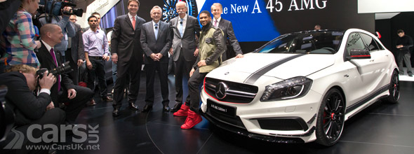 Mercedes A45 AMG Geneva debut photo