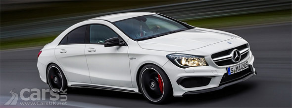 Mercedes CLA 45 AMG first photo