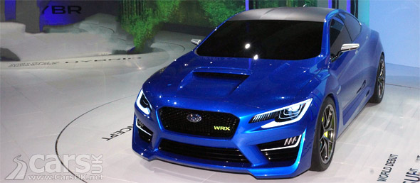 Photo opf Subaru WRX Concept New York 2013