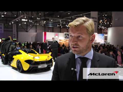 Video thumbnail for youtube video McLaren P1's Pirelli P Zero Corsas key to performance +video