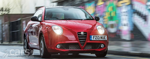 Photo of Red Alfa Romeo MiTo Live driving on road