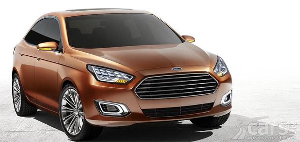 Photo Ford Escort Concept China