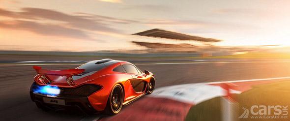 Photo McLaren P1 Bahrain Track