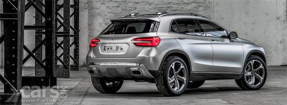 Mercedes GLA Concept official photo
