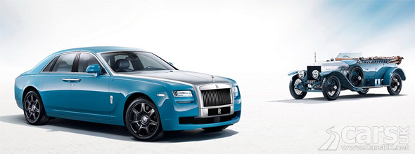Photo Rolls-Royce Ghost Alpine Trial Centenary Collection