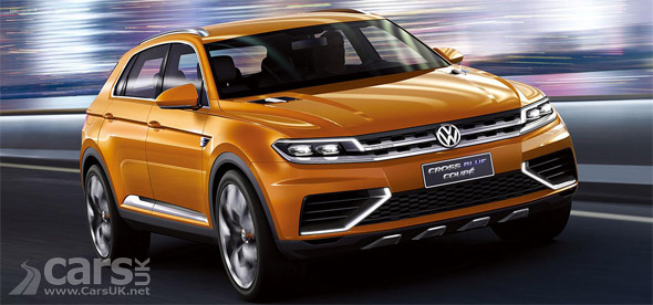 Firts photo of Volkswagen CrossBlue Coupe