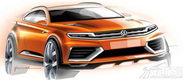 Photo VW CrossBlue Coupe Concept