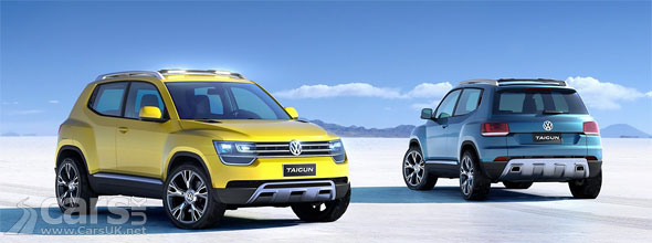vw taigun compact suv heading for production cars uk. Black Bedroom Furniture Sets. Home Design Ideas