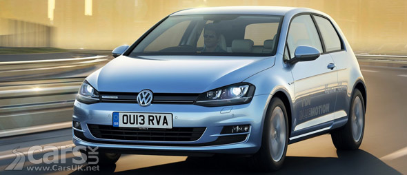 2013 VW Golf TDI BlueMotion Mk 7 Photo