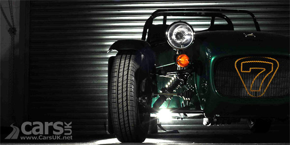 Tease photo of new Caterham Seven entry-level