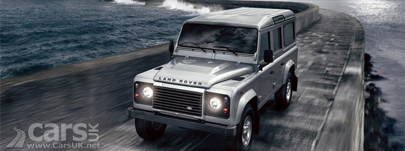 Photo new Land Rover defender