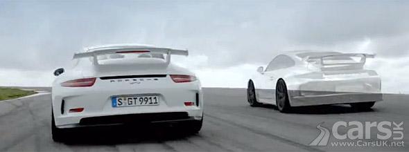 2013 Porsche 911 GT3 on track photo