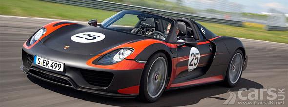 Porsche 918 Spyder new photo