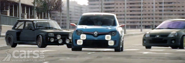 Photo Renault Twin'Run, Renault 5 Turbo & Clio V6