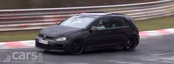 2014 VW Golf R Mk 7 spy video still