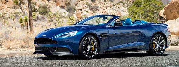 Photo New Aston Martin Vanquish Volante