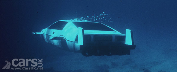 Photo of James Bond Lotus Esprit Submarine