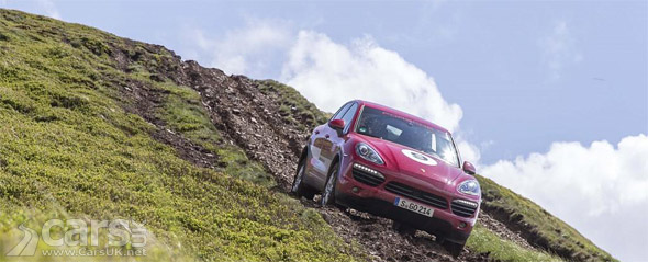Photo of Porsche Cayenne S Diesel off-road